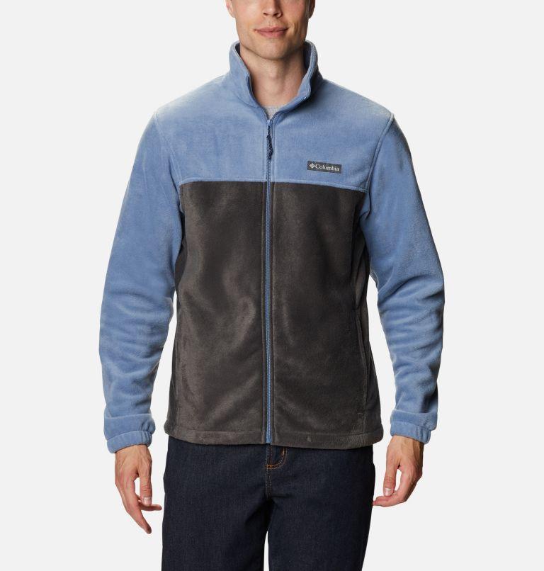 Steens Mountain™ Full Zip 2.0   451   3X Men's Steens Mountain™ 2.0 Full Zip Fleece Jacket — Big, Bluestone, Shark, front
