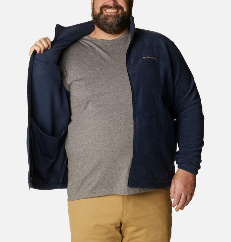 Steens Mountain™ Full Zip 2.0 | 464 | 3X Men's Steens Mountain™ 2.0 Full Zip Fleece Jacket — Big, Collegiate Navy, a3