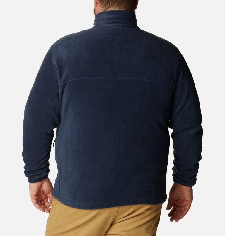 Steens Mountain™ Full Zip 2.0 | 464 | 3X Men's Steens Mountain™ 2.0 Full Zip Fleece Jacket — Big, Collegiate Navy, back