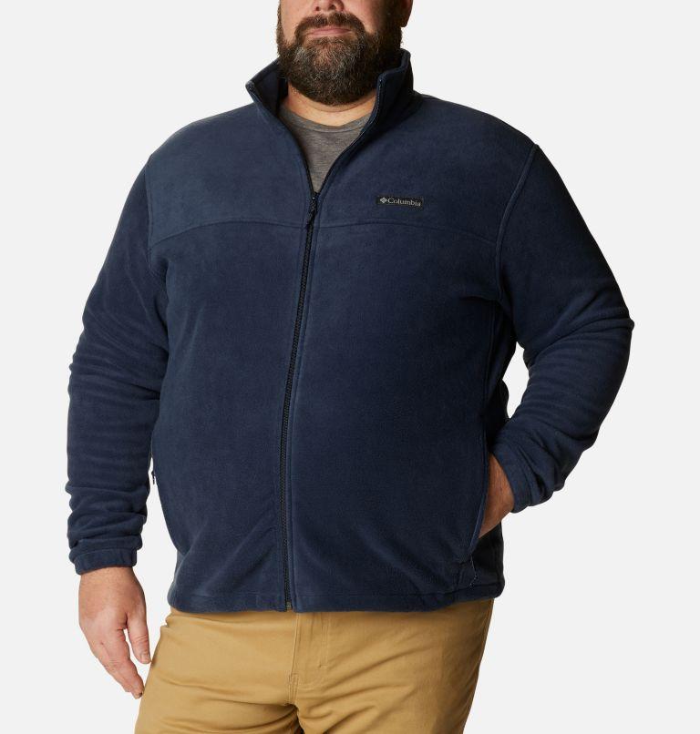 Steens Mountain™ Full Zip 2.0 | 464 | 3X Men's Steens Mountain™ 2.0 Full Zip Fleece Jacket — Big, Collegiate Navy, front
