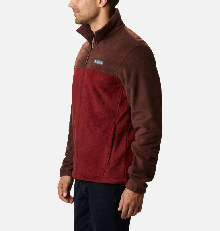 Steens Mountain™ Full Zip 2.0 | 630 | 5X Men's Steens Mountain™ 2.0 Full Zip Fleece Jacket — Big, Red Lodge, Red Jasper, a1