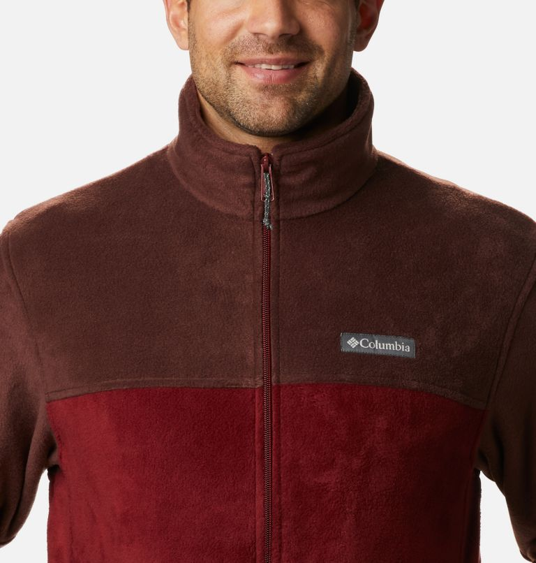 Steens Mountain™ Full Zip 2.0 | 630 | 5X Men's Steens Mountain™ 2.0 Full Zip Fleece Jacket — Big, Red Lodge, Red Jasper, a2