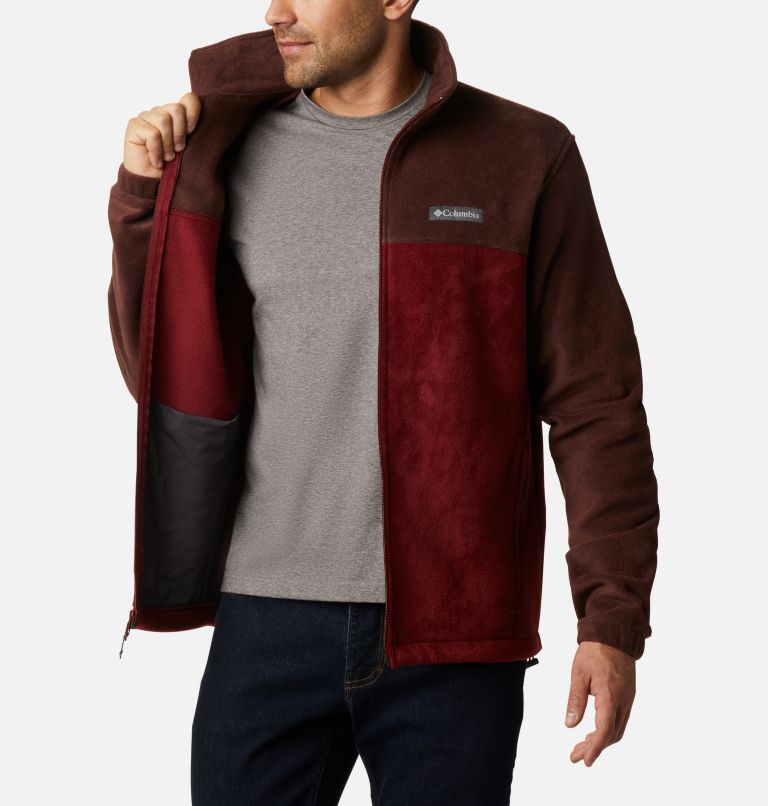 Steens Mountain™ Full Zip 2.0 | 630 | 5X Men's Steens Mountain™ 2.0 Full Zip Fleece Jacket — Big, Red Lodge, Red Jasper, a3