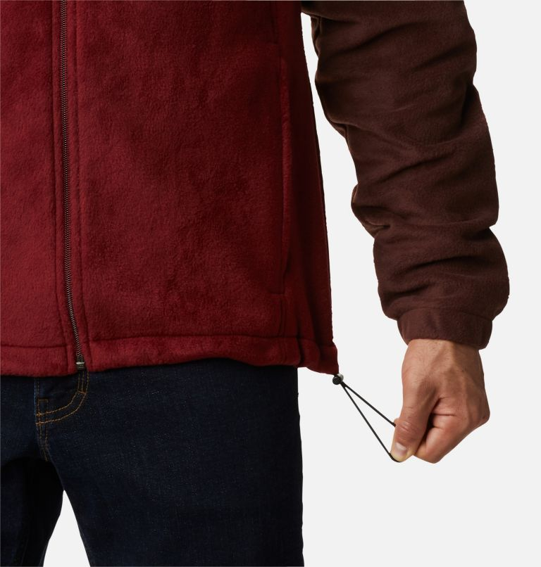 Steens Mountain™ Full Zip 2.0 | 630 | 5X Men's Steens Mountain™ 2.0 Full Zip Fleece Jacket — Big, Red Lodge, Red Jasper, a4