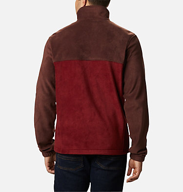 Men's Steens Mountain™ 2.0 Full Zip Fleece Jacket — Big Steens Mountain™ Full Zip 2.0 | 024 | 1X, Red Lodge, Red Jasper, back