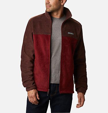 Men's Steens Mountain™ 2.0 Full Zip Fleece Jacket — Big Steens Mountain™ Full Zip 2.0 | 024 | 1X, Red Lodge, Red Jasper, front