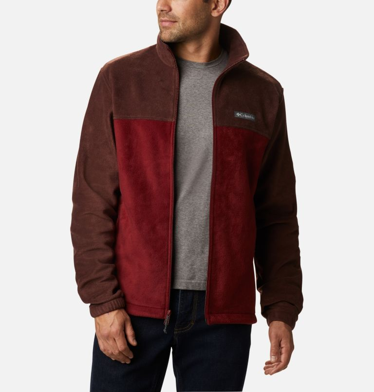 Steens Mountain™ Full Zip 2.0 | 630 | 5X Men's Steens Mountain™ 2.0 Full Zip Fleece Jacket — Big, Red Lodge, Red Jasper, front