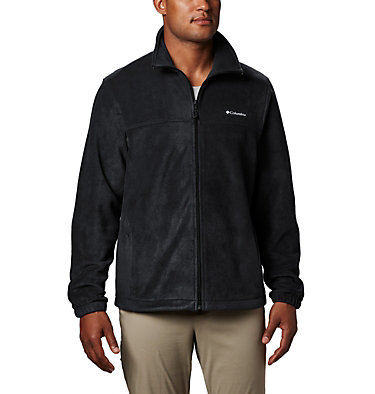 Men's Steens Mountain™ Full Zip Fleece 2.0 — Tall Steens Mountain™ Full Zip 2.0 | 024 | LT, Black, front