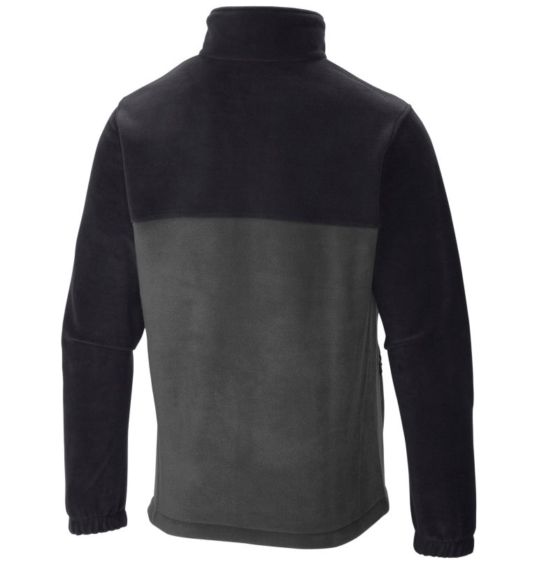 Steens Mountain™ Full Zip 2.0 | 011 | 3XT Men's Steens Mountain™ Full Zip Fleece 2.0 - Tall, Black, Grill, back