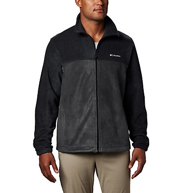 Men's Steens Mountain™ Full Zip Fleece 2.0 — Tall Steens Mountain™ Full Zip 2.0 | 024 | LT, Black, Grill, front