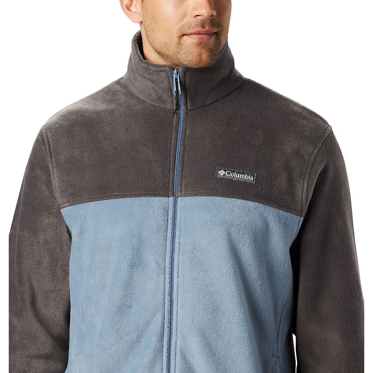 Soft Fleece with Classic Fit Olive Green Columbia Mens Tall Size Steens Mountain Full Zip 2.0 2XT