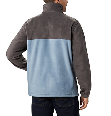 Men's Steens Mountain™ Full Zip Fleece 2.0 — Tall Steens Mountain™ Full Zip 2.0 | 024 | LT, Shark, Mountain, back