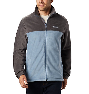 Men's Steens Mountain™ Full Zip Fleece 2.0 — Tall Steens Mountain™ Full Zip 2.0 | 024 | LT, Shark, Mountain, front