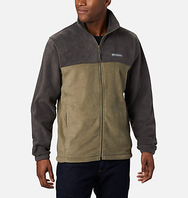 Men's Steens Mountain™ Full Zip Fleece 2.0 — Tall Steens Mountain™ Full Zip 2.0 | 024 | LT, Shark, Stone Green, front