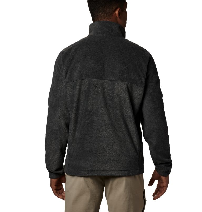 Steens Mountain™ Full Zip 2.0   048   2XT Men's Steens Mountain™ Full Zip Fleece 2.0 - Tall, Charcoal Heather, back