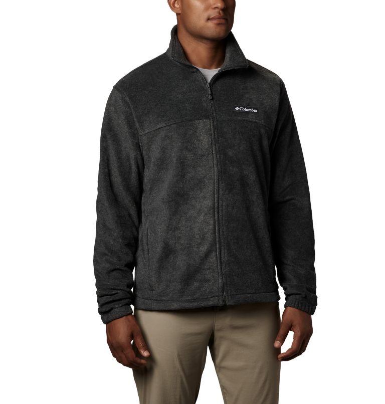 Steens Mountain™ Full Zip 2.0   048   3XT Men's Steens Mountain™ Full Zip Fleece 2.0 - Tall, Charcoal Heather, front