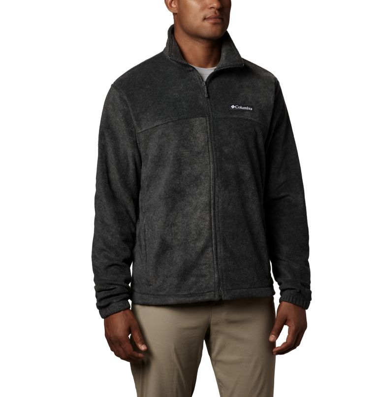 Steens Mountain™ Full Zip 2.0   048   2XT Men's Steens Mountain™ Full Zip Fleece 2.0 - Tall, Charcoal Heather, front