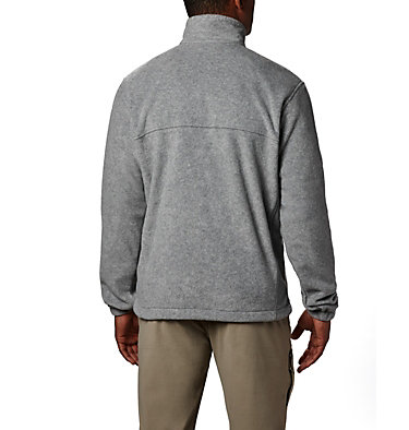Men's Steens Mountain™ Full Zip Fleece 2.0 — Tall Steens Mountain™ Full Zip 2.0 | 024 | LT, Light Grey Heather, back