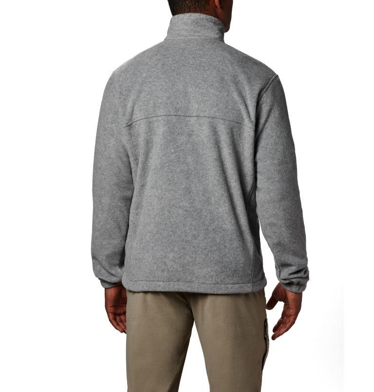 Steens Mountain™ Full Zip 2.0   060   2XT Men's Steens Mountain™ Full Zip Fleece 2.0 - Tall, Light Grey Heather, back