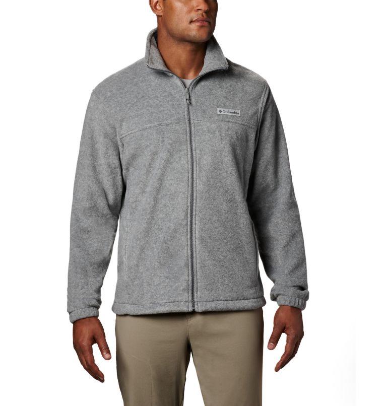 Steens Mountain™ Full Zip 2.0   060   2XT Men's Steens Mountain™ Full Zip Fleece 2.0 - Tall, Light Grey Heather, front