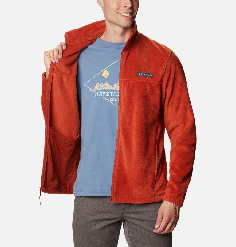 Steens Mountain™ Full Zip 2.0 | 248 | LT Men's Steens Mountain™ Full Zip Fleece 2.0 - Tall, Dark Sienna, a3