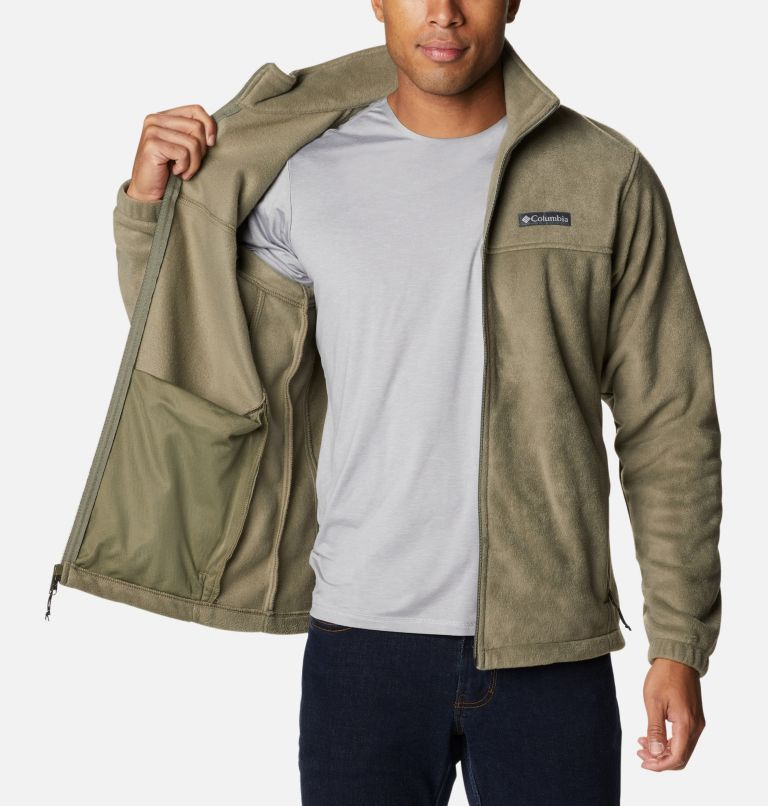 Steens Mountain™ Full Zip 2.0 | 399 | 3XT Men's Steens Mountain™ Full Zip Fleece 2.0 - Tall, Stone Green, a3