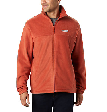 Men's Steens Mountain™ Full Zip Fleece 2.0 — Tall Steens Mountain™ Full Zip 2.0 | 024 | LT, Carnelian Red, front