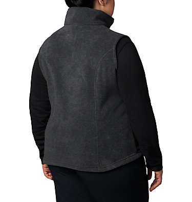Women's Benton Springs™ Vest-Extended Size Benton Springs™ Vest | 671 | 1X, Charcoal Heather, back