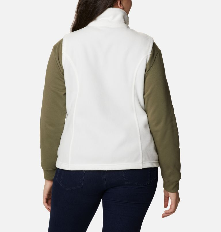 Benton Springs™ Vest | 125 | 3X Women's Benton Springs™ Vest - Plus Size, Sea Salt, back