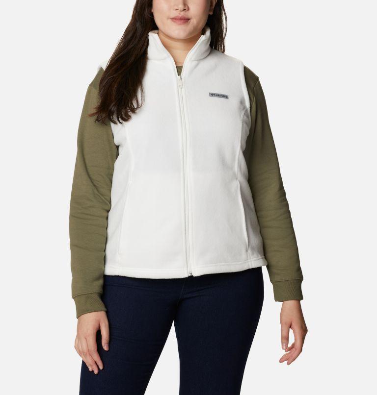 Benton Springs™ Vest | 125 | 3X Women's Benton Springs™ Vest - Plus Size, Sea Salt, front