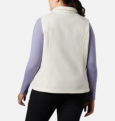 Women's Benton Springs™ Vest - Plus Size Benton Springs™ Vest | 370 | 1X, Chalk, back