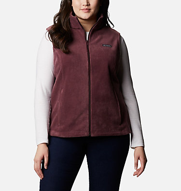 Women's Benton Springs™ Vest - Plus Size Benton Springs™ Vest | 671 | 1X, Malbec, front