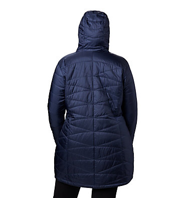 Manteau à capuchon Mighty Lite™  pour femme – Taille forte Mighty Lite™ Hooded Jacket | 591 | 2X, Nocturnal, back
