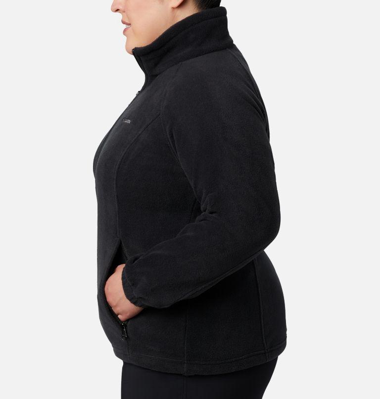 Benton Springs™ Full Zip   010   2X Women's Benton Springs™ Full Zip - Plus Size, Black, a1