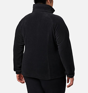 Women's Benton Springs™ Full Zip - Plus Size Benton Springs™ Full Zip | 619 | 1X, Black, back