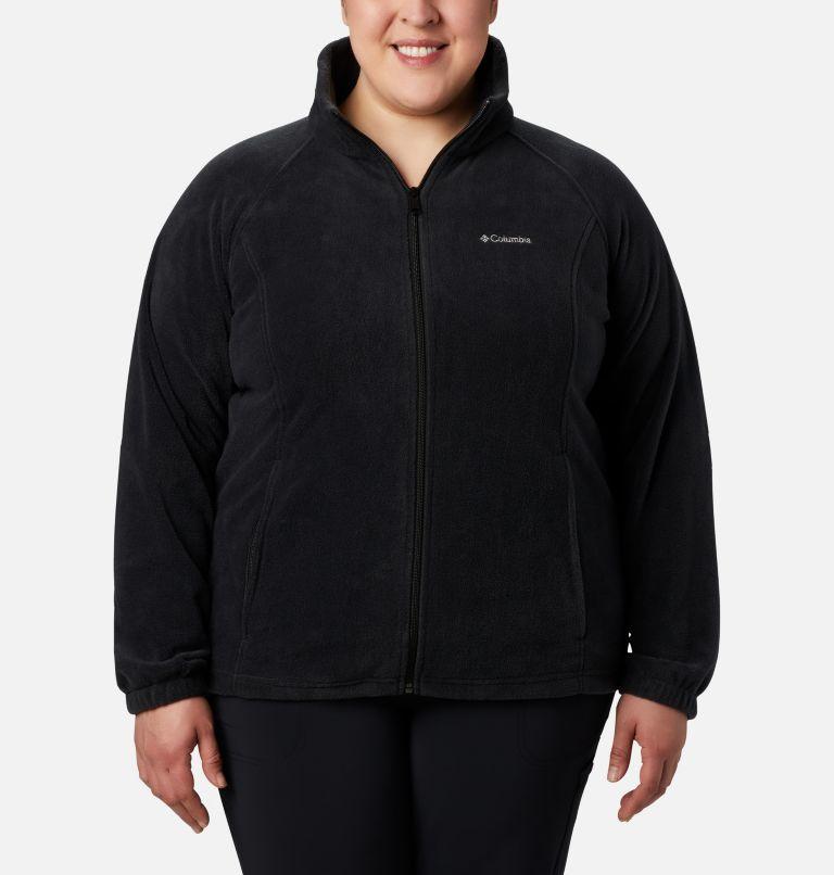 Benton Springs™ Full Zip   010   2X Women's Benton Springs™ Full Zip - Plus Size, Black, front