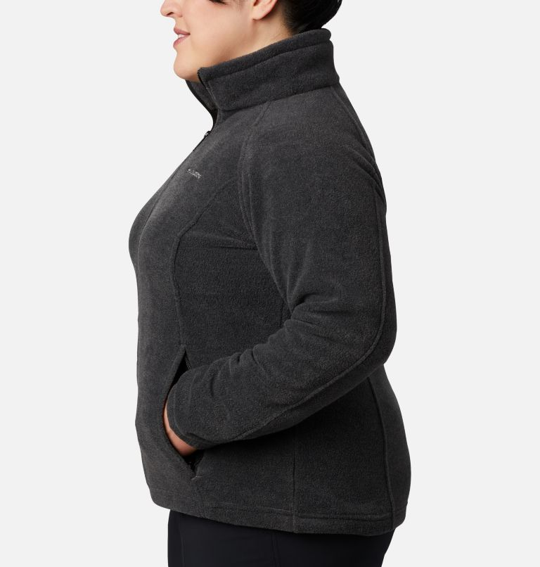 Benton Springs™ Full Zip | 030 | 3X Women's Benton Springs™ Full Zip - Plus Size, Charcoal Heather, a1