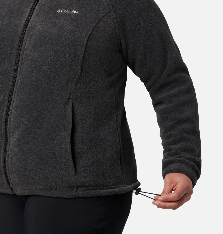 Benton Springs™ Full Zip | 030 | 3X Women's Benton Springs™ Full Zip - Plus Size, Charcoal Heather, a3