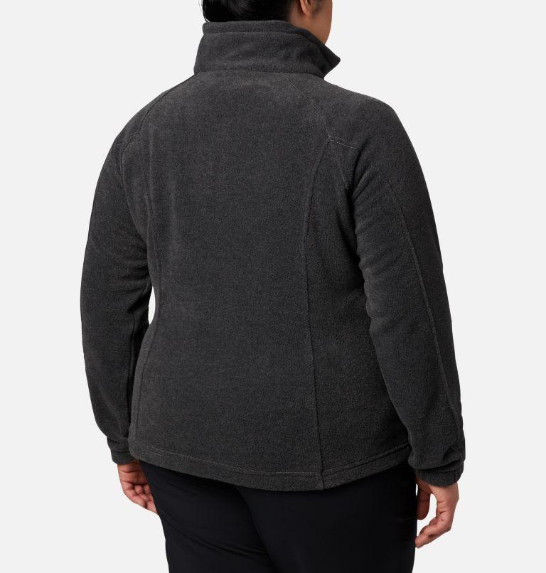 Benton Springs™ Full Zip | 030 | 3X Women's Benton Springs™ Full Zip - Plus Size, Charcoal Heather, back
