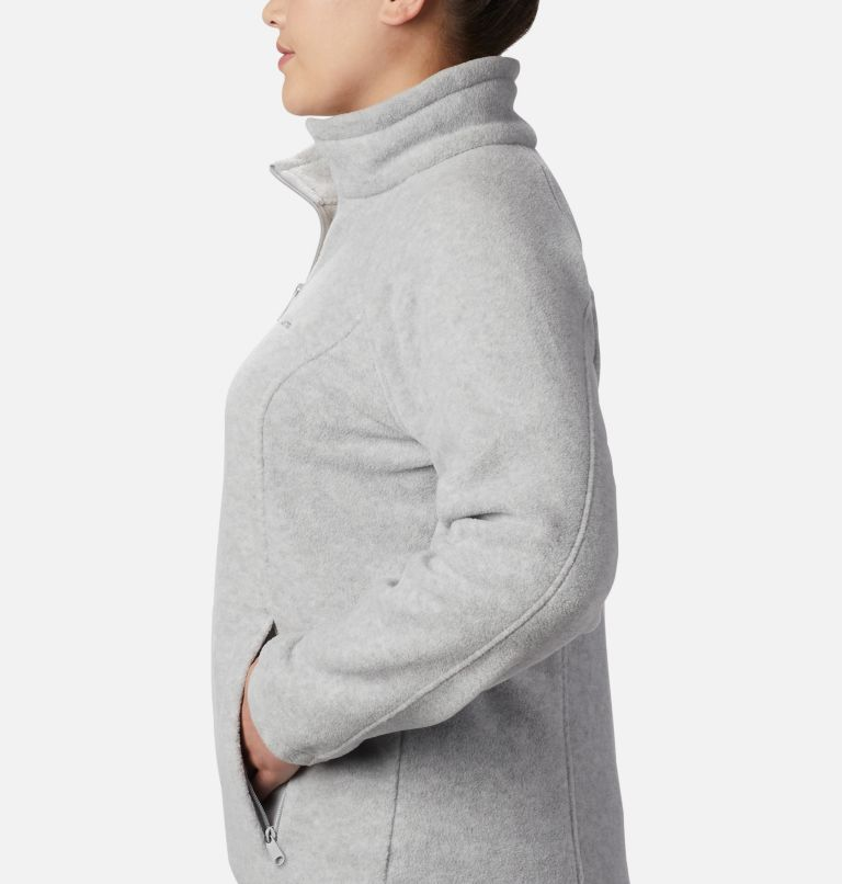 Benton Springs™ Full Zip | 034 | 2X Women's Benton Springs™ Full Zip - Plus Size, Cirrus Grey Heather, a1