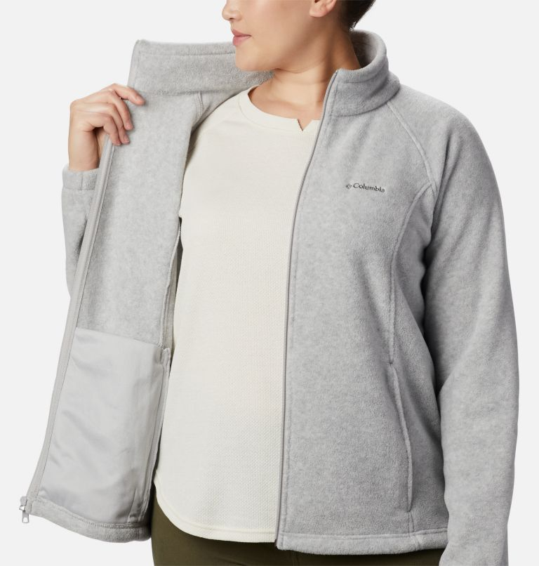 Benton Springs™ Full Zip | 034 | 2X Women's Benton Springs™ Full Zip - Plus Size, Cirrus Grey Heather, a3
