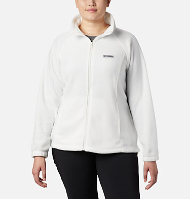 Women's Benton Springs™ Full Zip - Plus Size Benton Springs™ Full Zip | 619 | 1X, Sea Salt, front