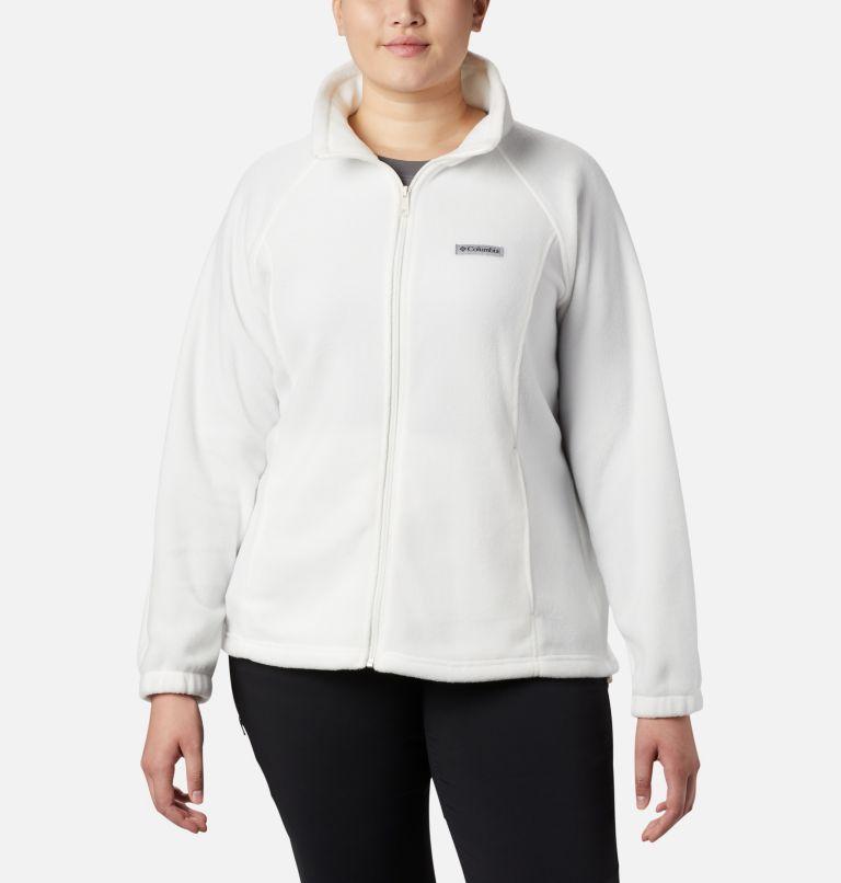 Benton Springs™ Full Zip | 125 | 2X Women's Benton Springs™ Full Zip - Plus Size, Sea Salt, front