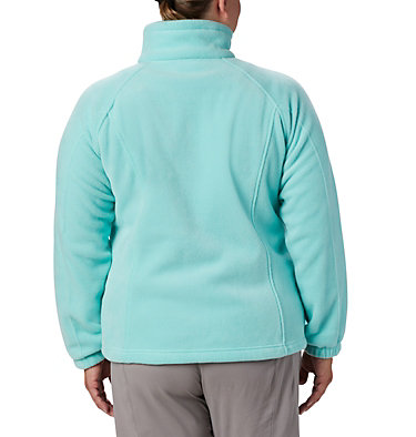 Women's Benton Springs™ Full Zip - Plus Size Benton Springs™ Full Zip | 619 | 1X, Aquarium, back