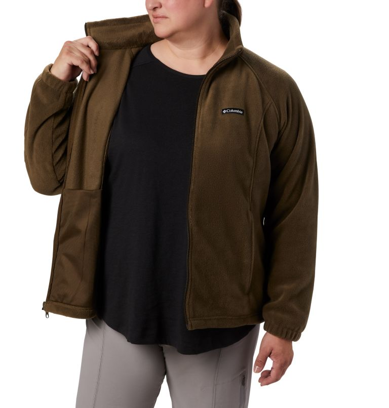 Benton Springs™ Full Zip | 319 | 2X Women's Benton Springs™ Full Zip - Plus Size, Olive Green, a2
