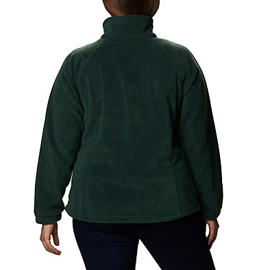 Women's Benton Springs™ Full Zip - Plus Size Benton Springs™ Full Zip | 619 | 1X, Spruce, back