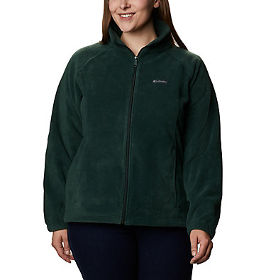 Women's Benton Springs™ Full Zip - Plus Size Benton Springs™ Full Zip | 619 | 1X, Spruce, front
