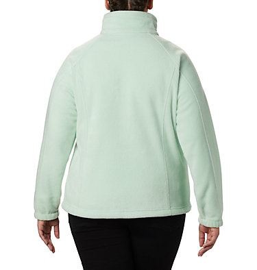 Women's Benton Springs™ Full Zip - Plus Size Benton Springs™ Full Zip | 619 | 1X, New Mint, back