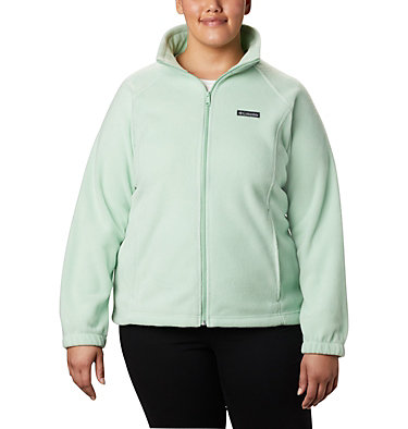 Women's Benton Springs™ Full Zip - Plus Size Benton Springs™ Full Zip | 619 | 1X, New Mint, front