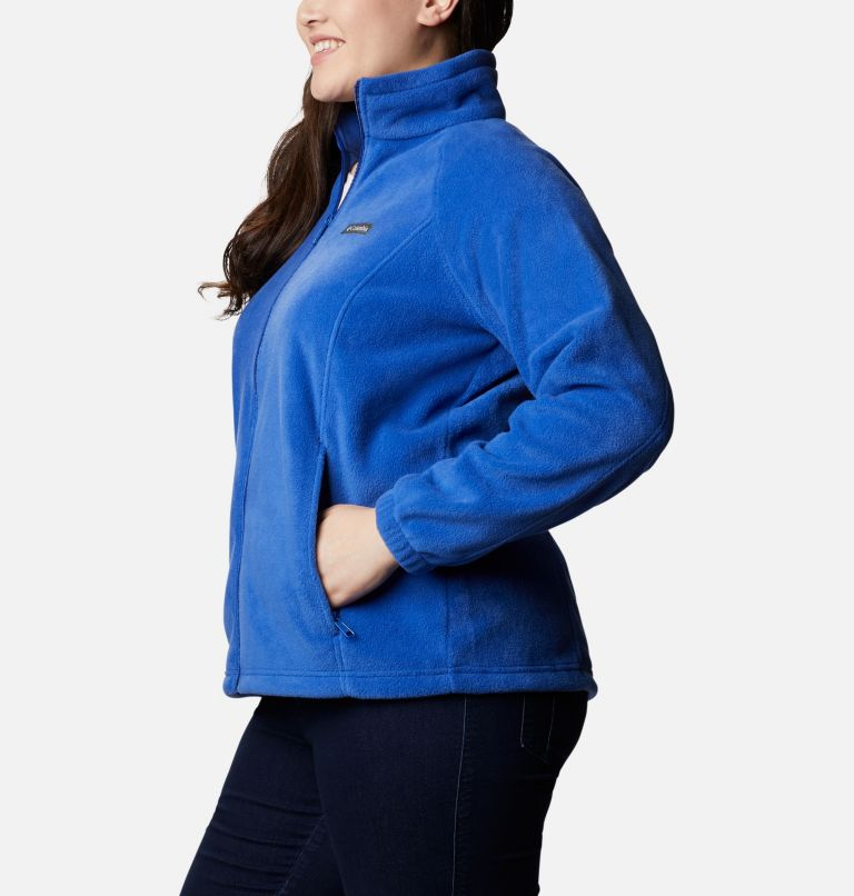 Benton Springs™ Full Zip | 410 | 2X Women's Benton Springs™ Full Zip - Plus Size, Lapis Blue, a1